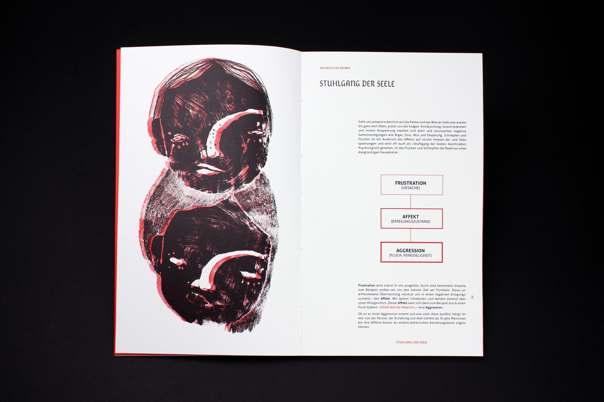 Laura Reggentin Am Arsch die Räuber, Ein Werk zur Malediktologie